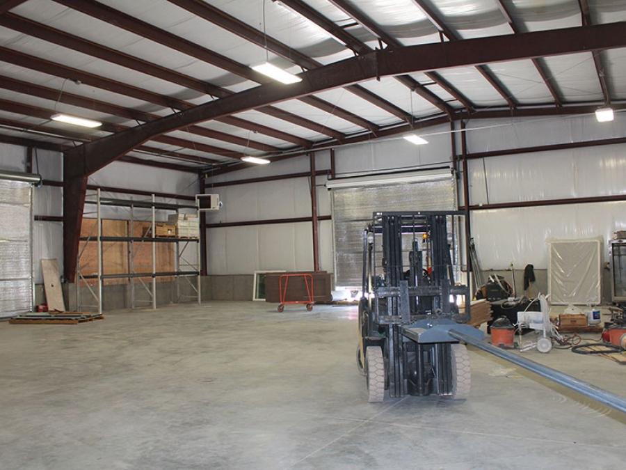 Steel Workshop Interior