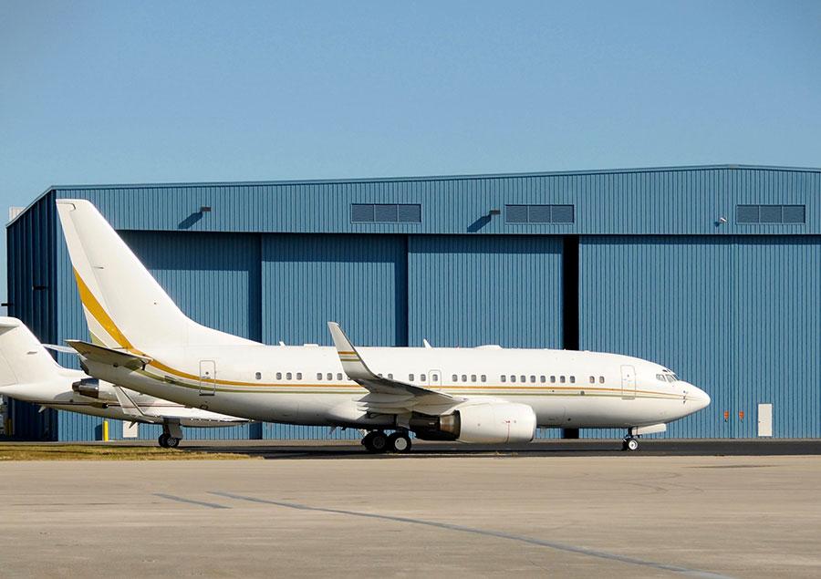 Aviation Commercial Hangar