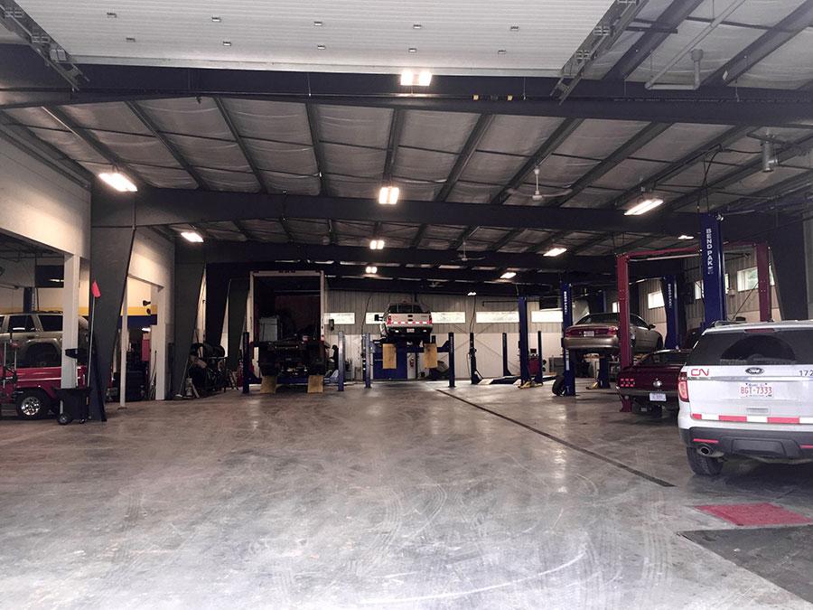 Vehicle Maintenance Building