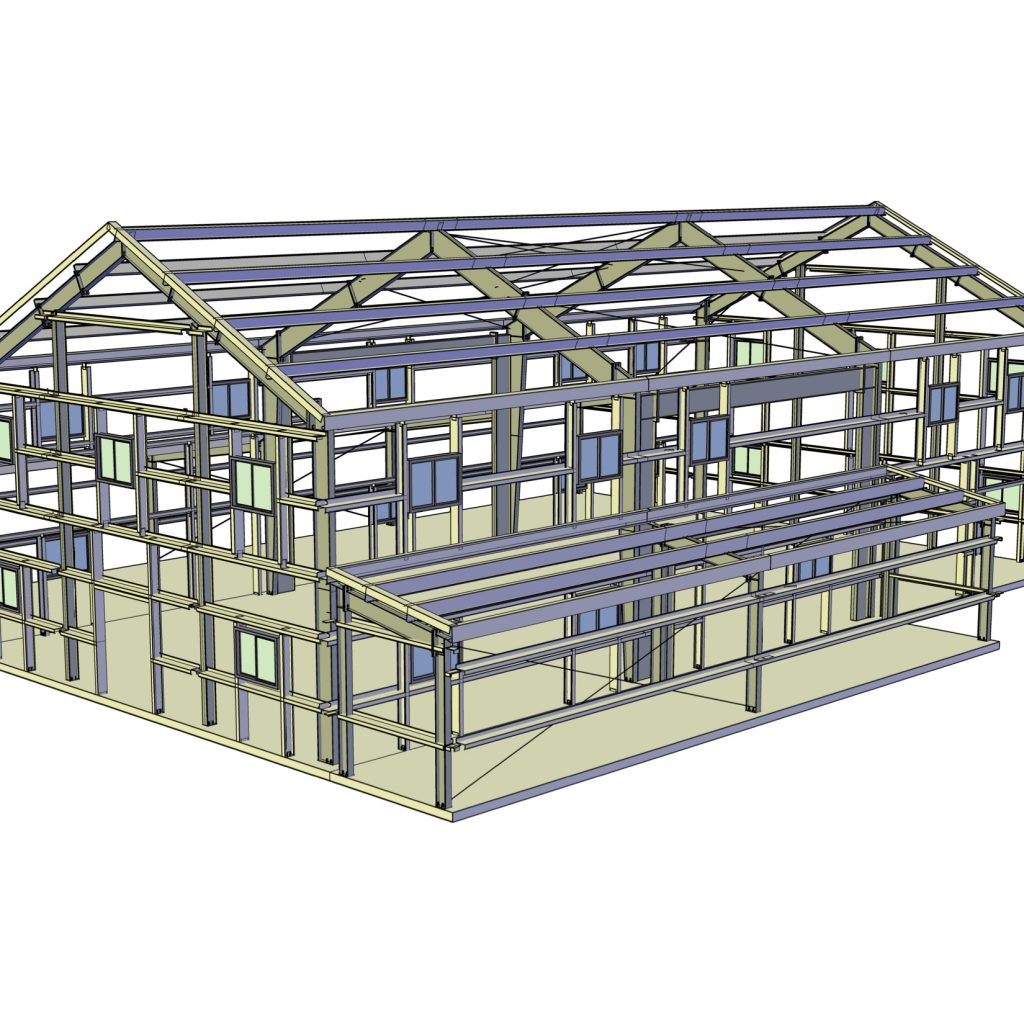 Structural Framing Systems : Structural framing systems western steel