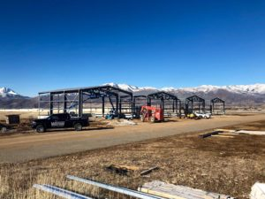 "<b>Airport Hangars</b> </br>4 | 50' x 40' x 20' <b>Steel Recreation Center</b> </br>100' x210' x 26' </br> <a href=""https://westernsteel.com/project-spotlight-heber-hangars/"">Read More</a>"