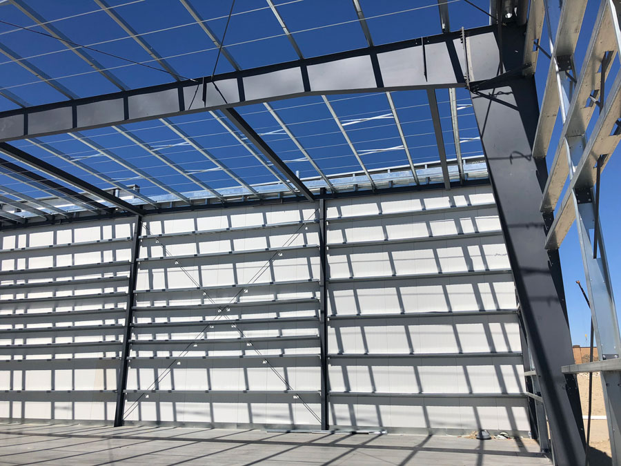 Commercial Steel Grow Facility