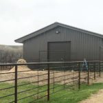 <b>Agricultural Steel Building</b> </br>50' x 170'x 18'