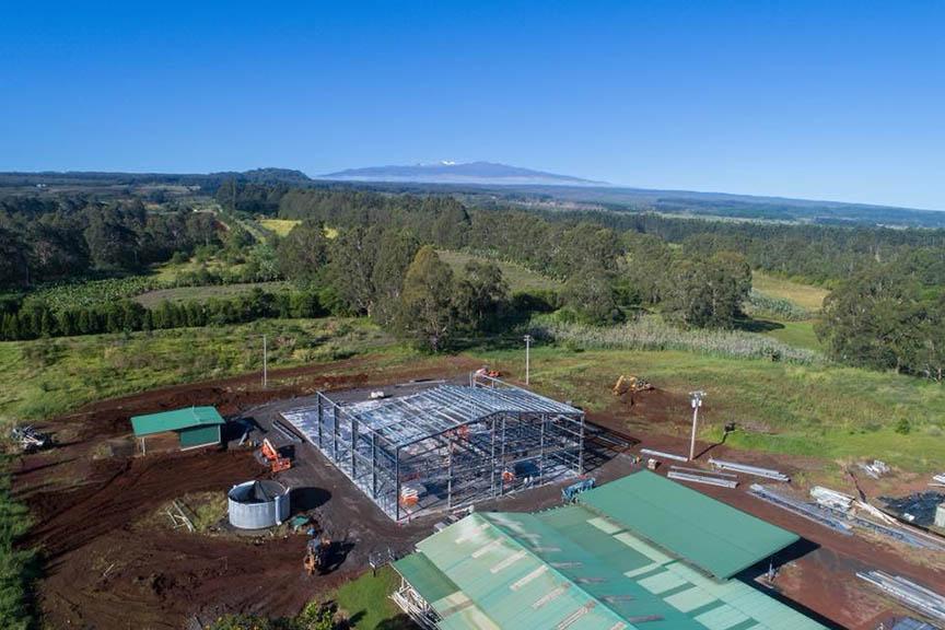 <b>Hilo Cultivation Facility</b> </br> 100'x350'x26' </br>
